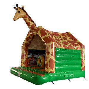 Springkussen Giraffe 5x4 meter